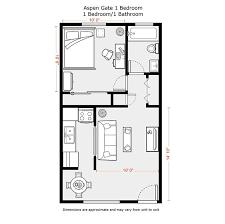 Flats Floor Plans Brilliant One Bedroom Apartment Open Floor Plans Layout Ideas