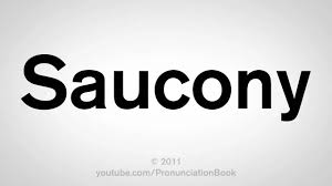 how to pronounce saucony youtube