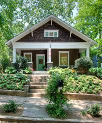 american craftsman bungalow craftsman house numbers best yellow house red door exterior