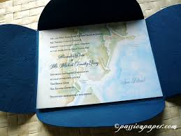 sea island destination map wedding invitations by paper
