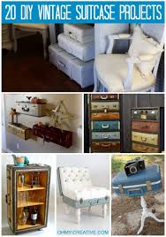 Crafting Ideas For Home Decor 20 Diy Vintage Suitcase Decorating Ideas Oh My Creative