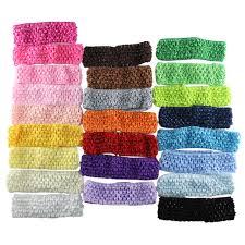 elastic headband online shop 30 pcs lot baby boy girl crochet elastic headband