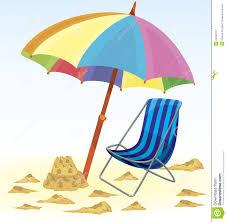 Kids Beach Chair With Umbrella Beach Chair And Umbrella Clipart Clipartsgram Com