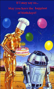 Wars Happy Birthday Quotes R2d2 3 P O B Day Birthday Wishes Pics Pinterest