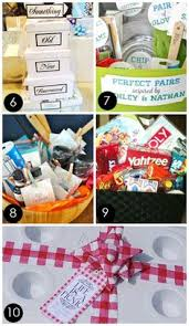 creative bridal shower gift ideas for the is a picnic marriage survival kit or bridal shower gift so