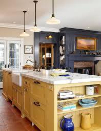 kitchen islands toronto yellowhen island modern furniture white brick home painted yellow