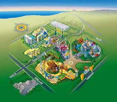 Disney Maps Disneyland Advertising