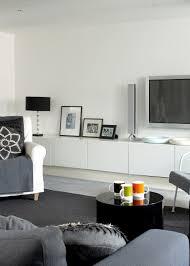 gray contemporary modern family room living room design ideas