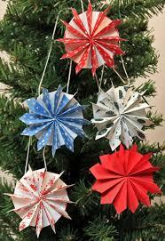 funezcrafts easy crafts paper pinwheel wreath ornament