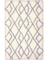 square solid shag u0026 flokati blue area rugs bhg com shop