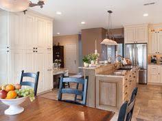 Carolina Country Kitchen - open south carolina country kitchen large kitchen island hgtv