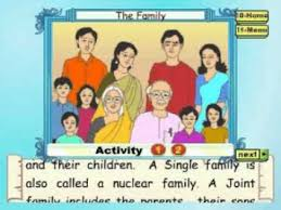 learn evs class 2 the family animation youtube