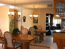 dining room beautiful mirrored living room furniture round