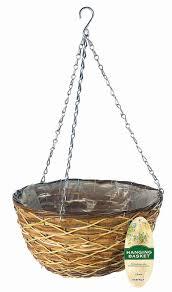 amazon com gardman r486 lattice hanging wall basket 14
