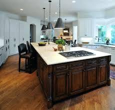 kitchen island cooktop kitchen inspiring kitchen island at with
