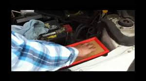 engine air filter replacement nissan altima diy youtube