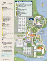 Disney World Magic Kingdom Map Disney U0027s Contemporary Resort Map Wdwinfo Com