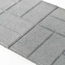 Rubber Patio Pavers Rubber Patio Paver Tile Angled Yard Pinterest Patios And