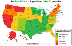 map us gas prices u s gas price ave falls below 2 a gallon the vw independent
