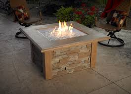 Modern Outdoor Gas Fireplace by Outdoor Tables With Fire Pit