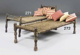 an indian hardwood daybed late 19th early 29th century christie u0027s