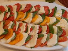 Ina Garten Hors D Oeuvres Tomato Mozzarella And Basil Salad For The Love Of Ina
