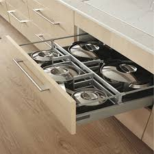 Modular Kitchen Cabinets India Modular Kitchen Drawer Storage Units In Delhi India Kitchen