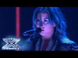 demi lovato sang neon lights the x factor usa 2013 top 8