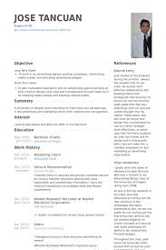 Sample Intern Resume by Marketing Intern Resume Berathen Com