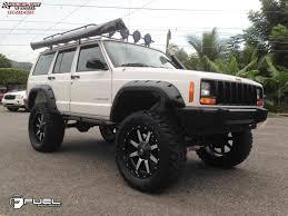 jeep black matte jeep cherokee fuel maverick d537 wheels matte black u0026 machined face