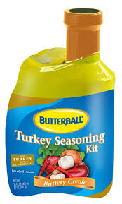 delicious butterball turkey injection marinade in buttery creole