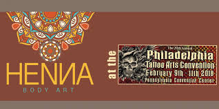 henna body art at the philadelphia tattoo convention tickets