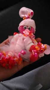 Baby Sock Corsage Partypizzazz