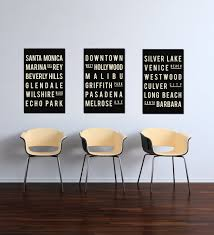 Home Decor Santa Monica California Poster Print Los Angeles Wall Decor Los Angeles