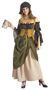 padme halloween costumes amazon com deluxe tavern wench costume clothing