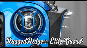 rugged ridge elite tail light guards unboxing rugged ridge elite guard daystar d ring isolator youtube