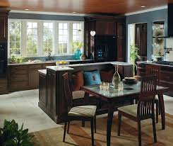 Kitchen Island With Cabinets And Seating Java Cabinets Featuring A Kitchen Island With Seating Homecrest