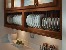 kitchen cabinets plate rack monsterlune