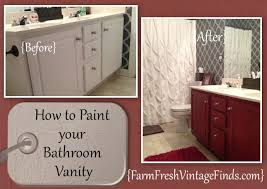 Chalk Paint Bathroom Cabinets Catchy Painting Bathroom Cabinets Painted Bathroom Cabinets