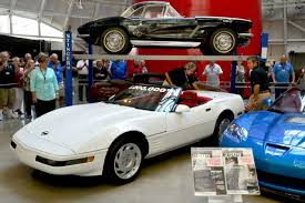where is the national corvette museum located national corvette museum completes sinkhole repair