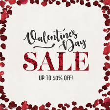 valentines sale valentines day sale instagram post template postermywall