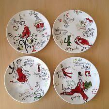 lenox dinnerware set of 4 12 days of dessert plates