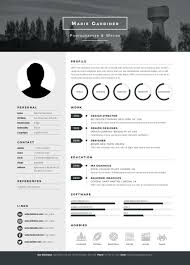 photographer resume template how to prepare your resume for work in photography and video mono resume template from envato market