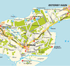 island map of greater læsø kattegat denmark maps and directions