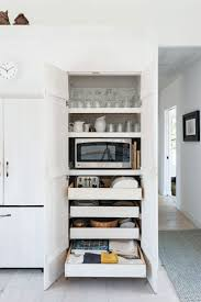 how to paint kitchen cabinets a step by guide best condo ideas on slide out kitchen pantry drawers inspiration best small condo ideas on pinterest fddbbdcac microwave in hidden