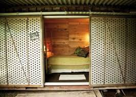from ocean voyage to backyard guest house inside arciform