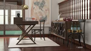 dining room to office work from home 9 places to put an office in the living room