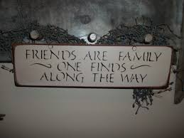 country home decor signs wood sign friends are family handmade prim country rustic home