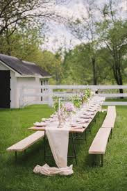 Hammer Wooden Picnic Tables And Outdoor Serving Tables Discover by 50 Outdoor Party Ideas You Should Try Out This Summer
