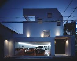 amazing concrete home garage design ideas duckdo clear skies modern home design with nine car garage and architectural design home plans architecture and